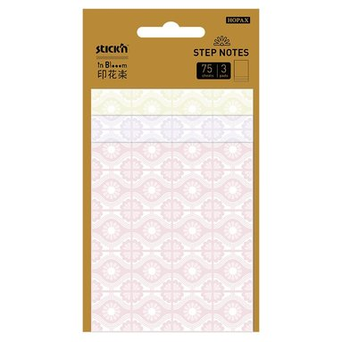 Notisblock In Bloom StepNotes 3x25blad keramik