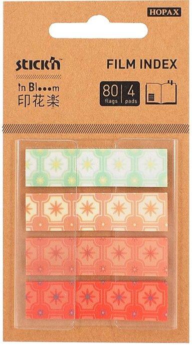Notisflik Stick'n In Bloom 45x12mm stjärnor