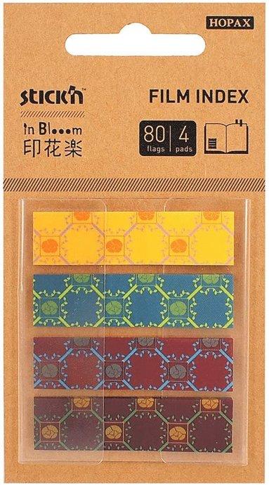 Notisflik Stick'n In Bloom 45x12mm blommor