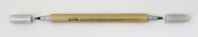Kalligrafipenna MS-8400 silver 1