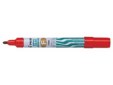 Märkpenna Super Color F röd