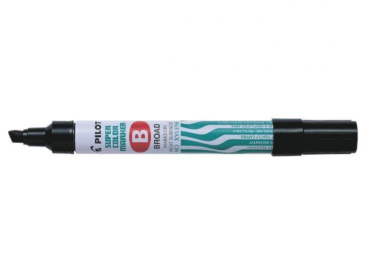 Märkpenna Super Color B svart 1