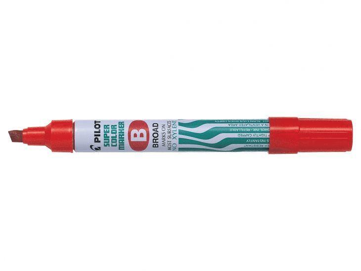 Märkpenna Super Color B röd 1