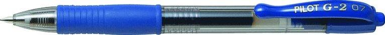 Kulspetspenna G-2 0,7 blå 1