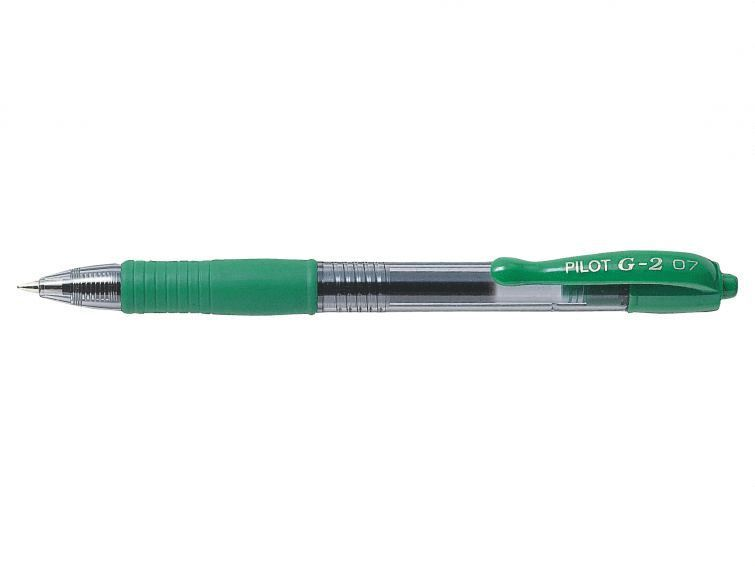 Kulspetspenna G-2 0,7 grön 1