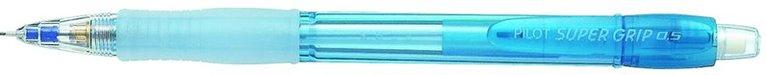 Stiftpenna 0,5 Super grip neon ljusblå 1