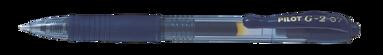 Kulspetspenna G-2 0,7 blåsvart