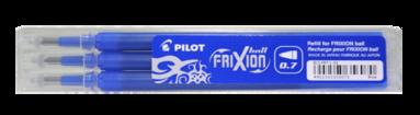 Patron Frixion Ball 0,7 3-pack blå
