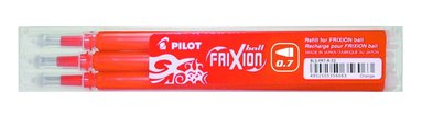 Refill Frixion Ball 0,7 3-pack orange