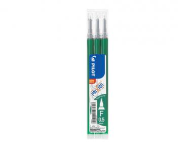 Refill Frixion Point 0,5 Synergy-Tip 3-pack grön