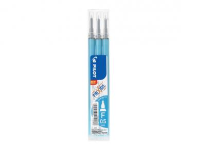 Refill Frixion Point 0,5 Synergy-Tip 3-pack ljusblå