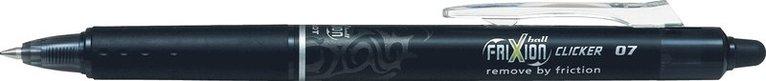 Kulspetspenna Frixion Ball Clicker 07 svart 1