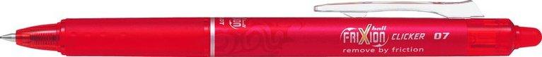 Kulspetspenna Frixion Ball Clicker 07 röd 1