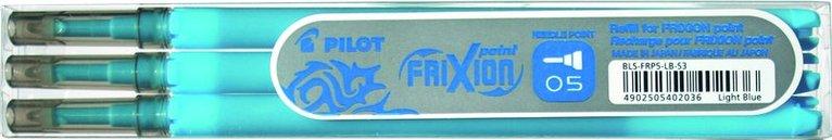 Refill Frixion Ball 0,5 3-pack ljusblå 1