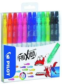 Fiberspetspenna Frixion Color 12 färger