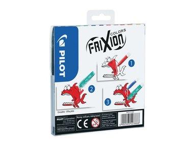 Fiberspetspenna Frixion Color 12-pack 2