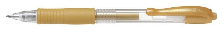 Kulspetspenna G-2 0,7 metallic guld 1