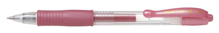 Kulspetspenna G-2 0,7 metallic rosa 1