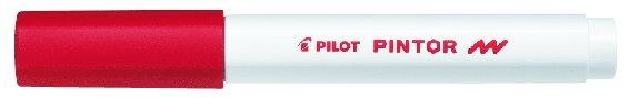 Märkpenna Pilot Pintor F röd 1