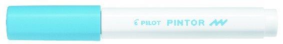 Märkpenna Pilot Pintor F pastellblå 1