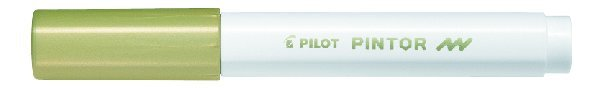 Märkpenna Pilot Pintor F guld 1