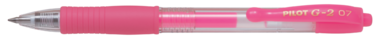 Kulspetspenna G-2 0,7 neonrosa