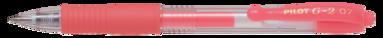 Kulspetspenna G-2 0,7 neonröd