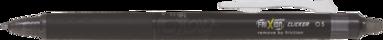 Kulspetspenna Frixion Clicker 0,5 Synergy-Tip svart