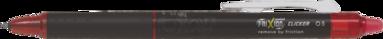 Kulspetspenna Frixion Clicker 0,5 röd