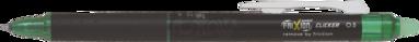 Kulspetspenna Frixion Clicker 0,5 grön