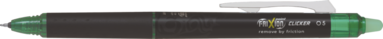Kulspetspenna Frixion Point Clicker Synergy-tip 05 grön