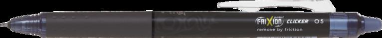 Kulspetspenna Frixion Point Clicker 05 svartblå 1