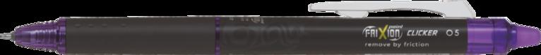 Kulspetspenna Frixion Point Clicker Synergy-tip 05 violett 1