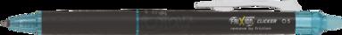 Kulspetspenna Frixion Point Clicker 05 ljusblå