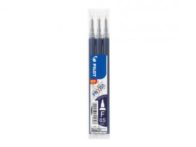 Refill Frixion Point 0,5 Synergy-Tip 3-pack svartblå