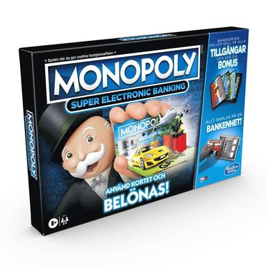 Spel Monopoly Super Electronic Banking 1
