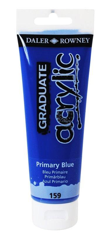 Akrylfärg Graduate 120ml blå
