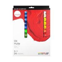 Oljefärgsset Simply 12ml 24 färger