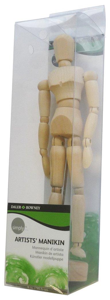 Modelldocka 20cm i trä