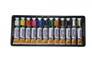 Akrylfärgsset Graduate 12 färger