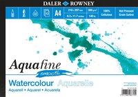 Akvarellblock A4 Aquafine Smooth 300g 12blad