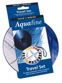 Akvarellfärg Aquafine Travel Set