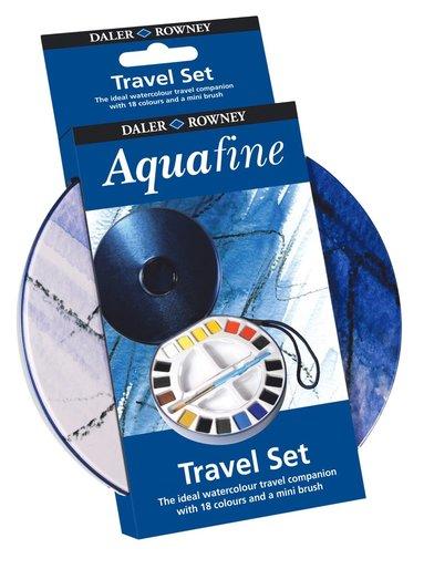 Akvarellfärg Aquafine Travel Set 1