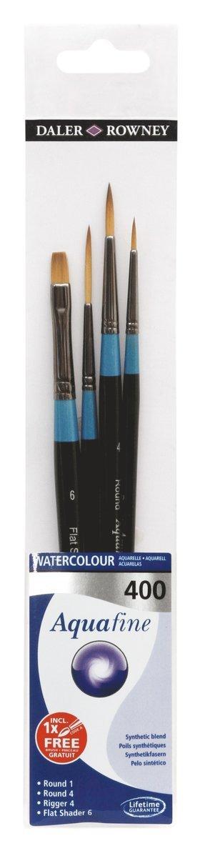 Pensel Aquafine 4-pack