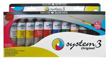Akrylfärg System3 Studio Set