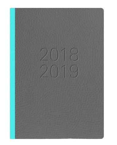 Kalender 18-19 A6 Two Tone DpS grå