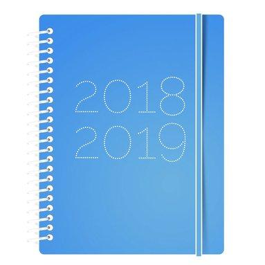 Kalender 18-19 A6 Gummy VpU blå 1