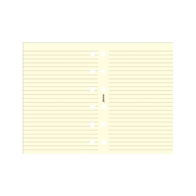 Kalenderdel Filofax Pocket anteckningsblad linjerade beige