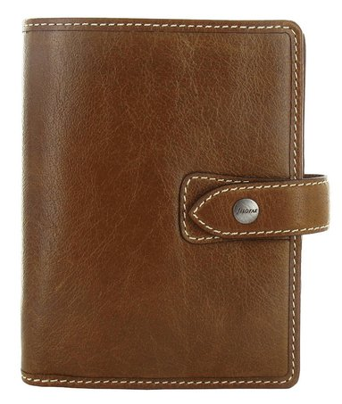 Kalenderpärm Filofax Pocket Malden brun 1