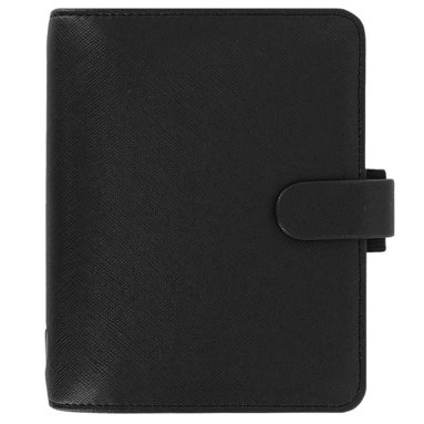 Kalenderpärm Filofax Pocket Saffiano svart 1